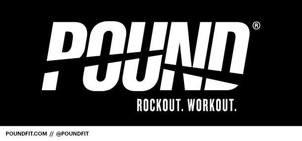 Pound Rockout Workout logo