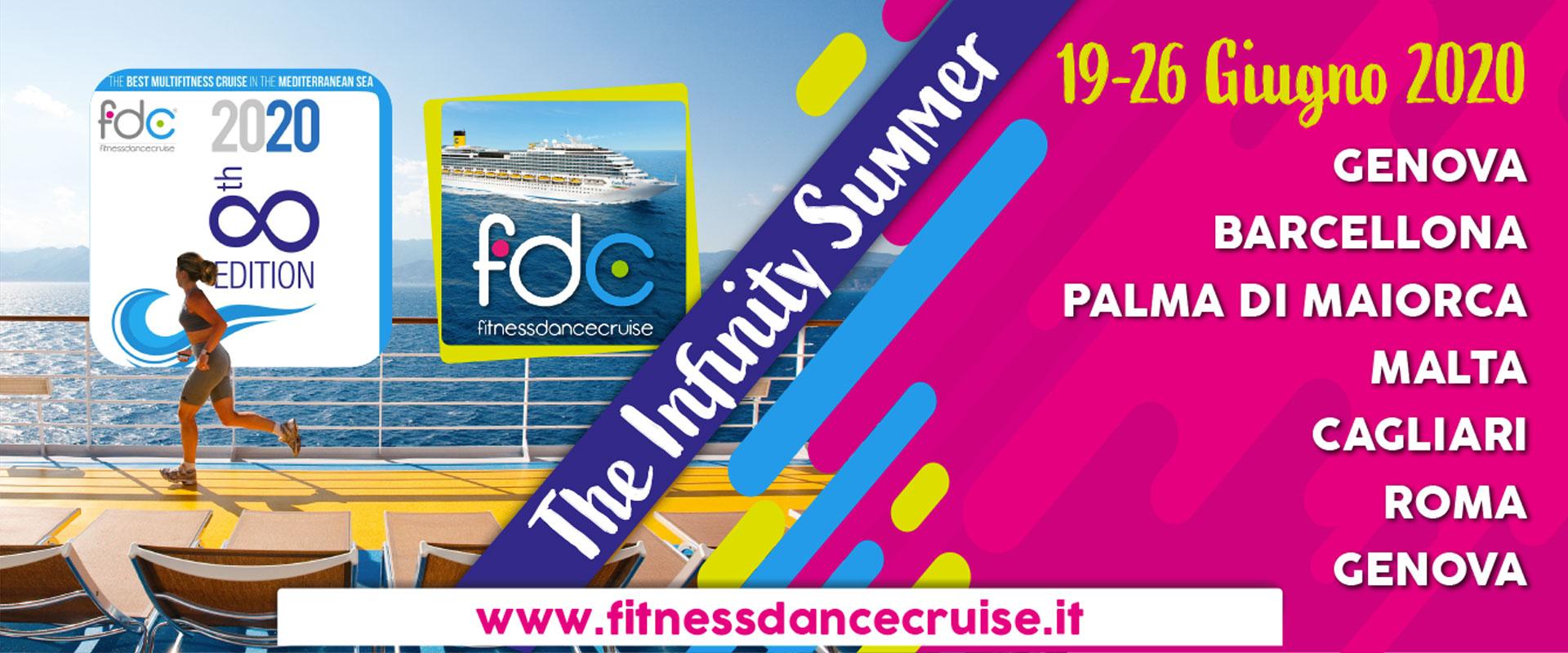 FDC2020 June 19-26, 2020, Genoa, Barcelona, Palma, Malta, Cagliari, Rome
