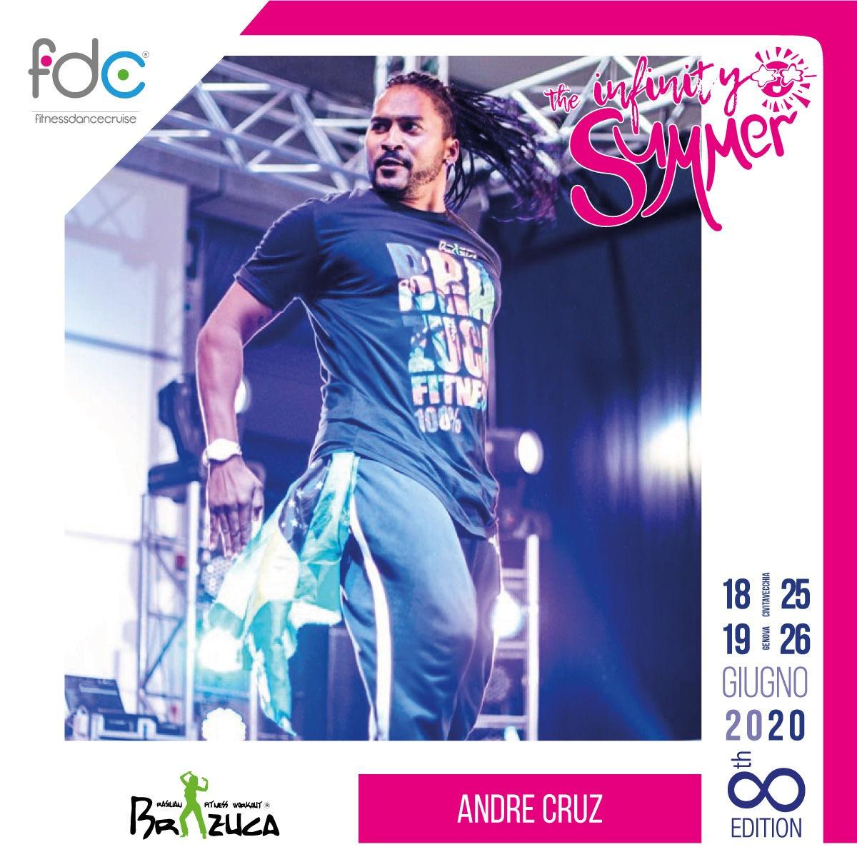 Brazuca FDC Presenter Andre Cruz