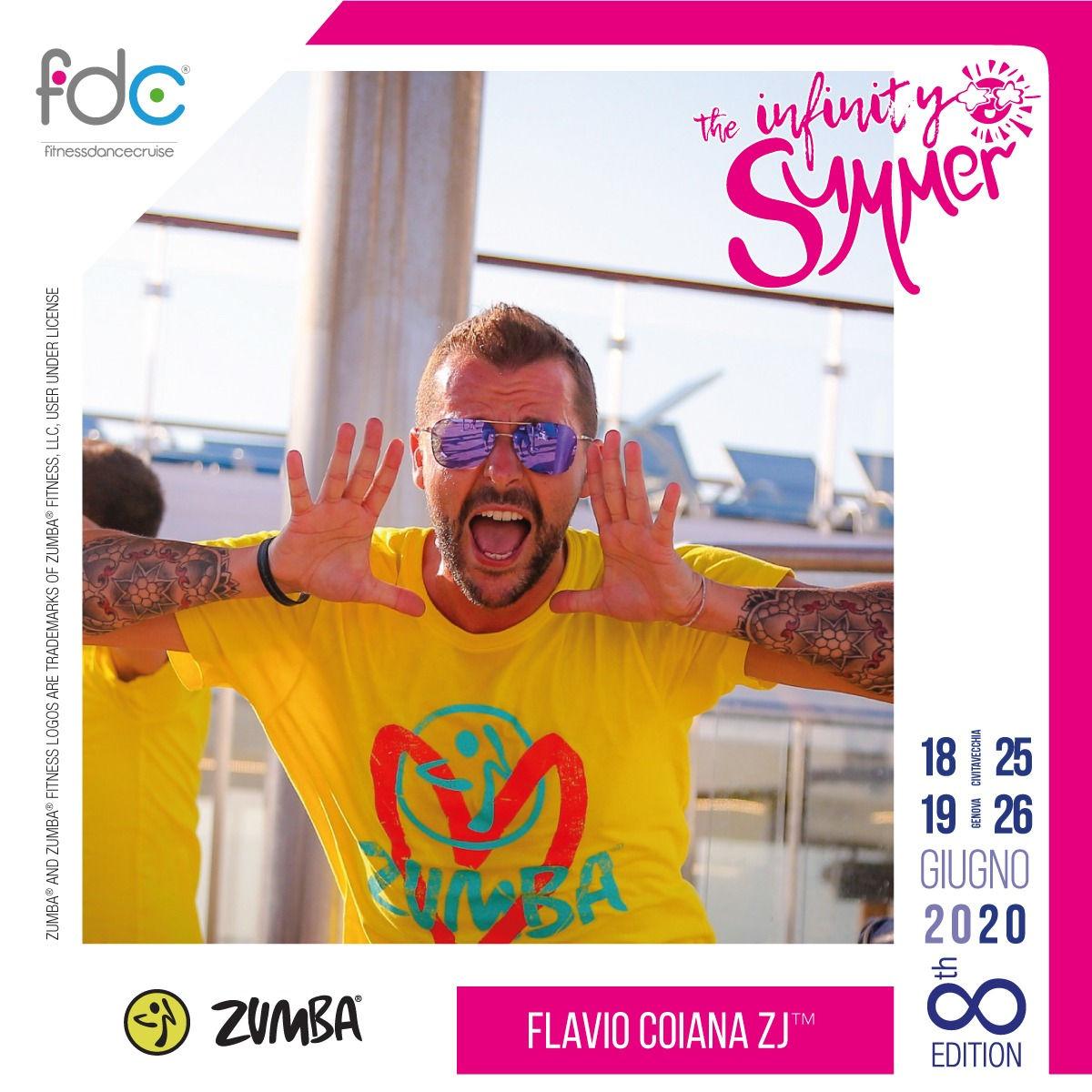 Zumba FDC Presenter Flavio Coiana ZJ
