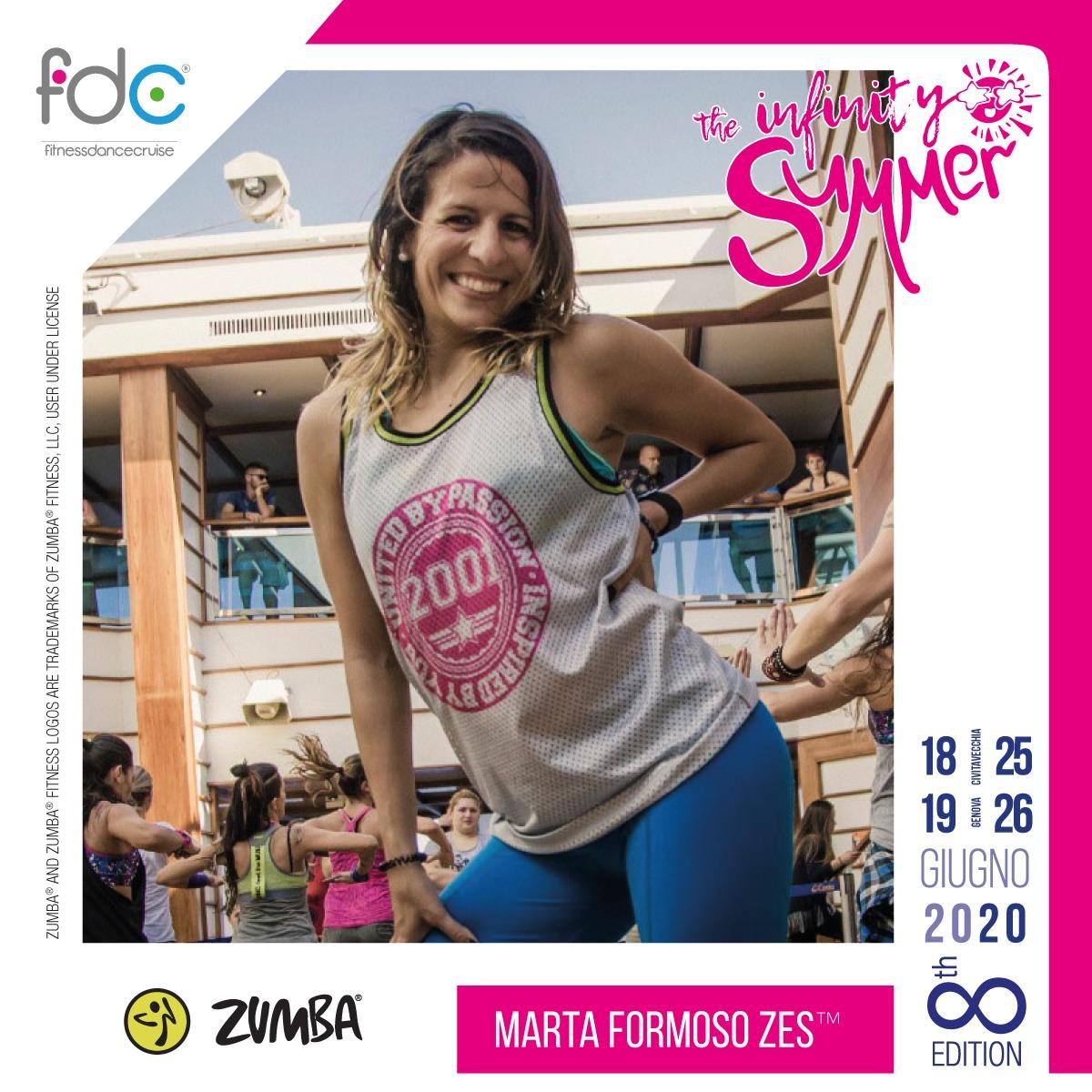 Zumba FDC Presenter Marta Formoso
